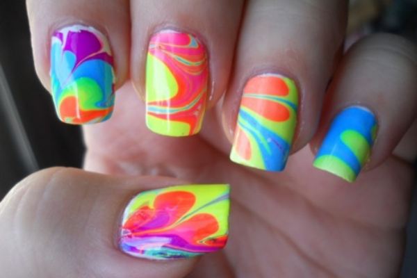 Girly nail art guide an overview of major three nail art designs funky party girly nail art nail art guide prinsesfo Gallery