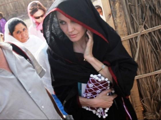 angelina jolie wearing shalwar kameez - salwar kameez