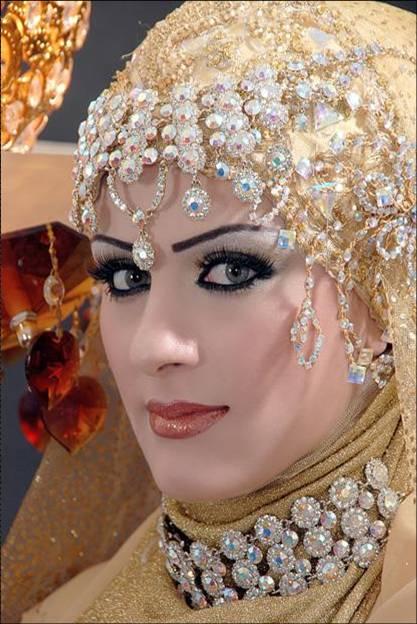 Arabic Bride Cute Makeup Eastern Bridal Makeup Tip