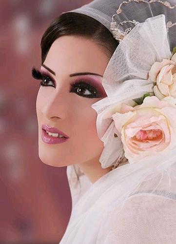 Cute Arabic Bride Eastern Bridal Makeup Tip Western