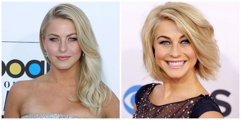 Long hair vs short hair female