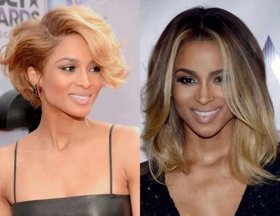 hairs style - short hair vs long hair - celebrities in long hairs and short hairs - hair Styles