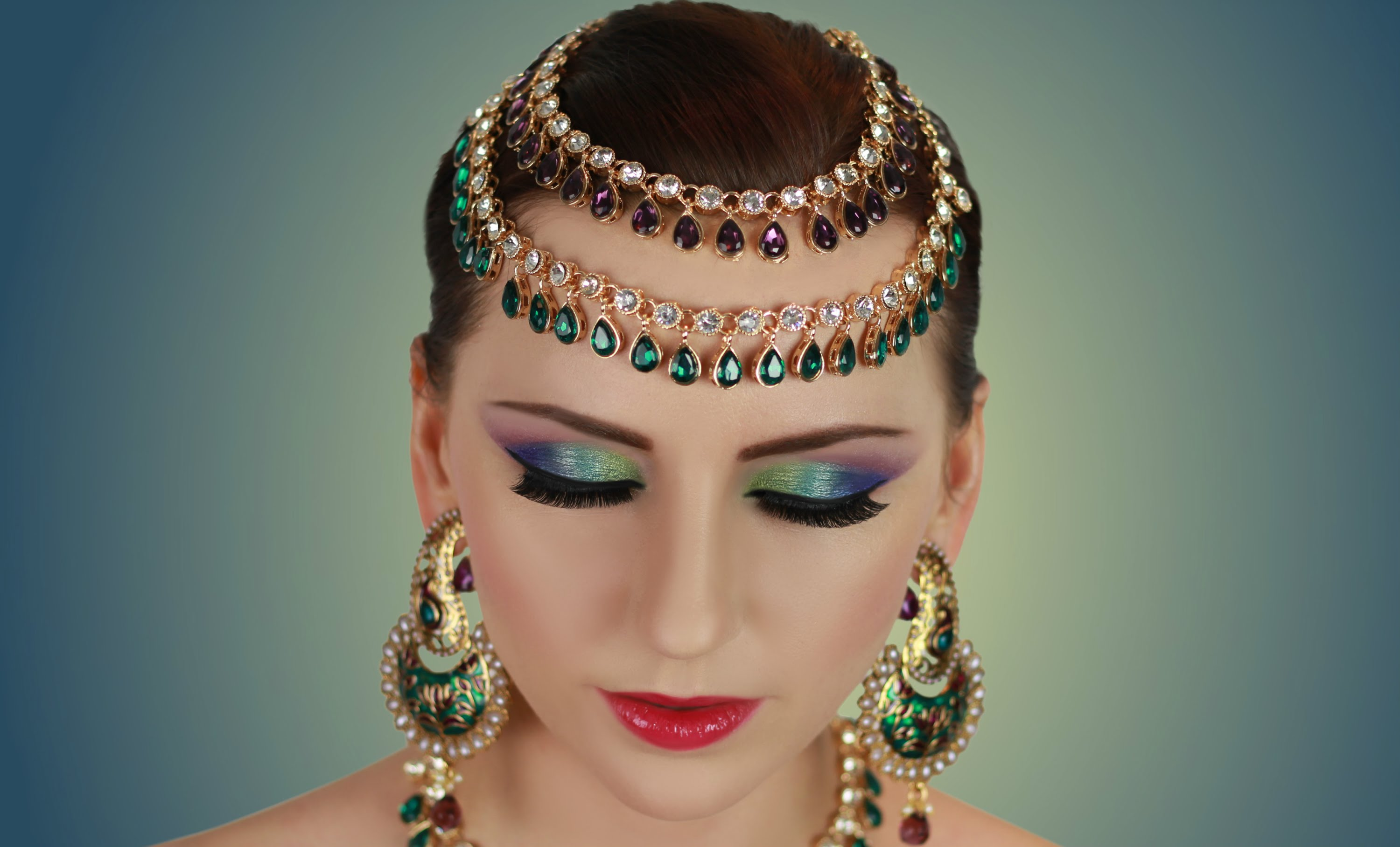 Middle East Bridal Makeup Eastern Tip Western