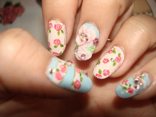 - Girly Nail Art Ideas