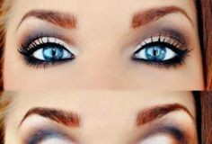 How to Make Blue Eyes Pop a