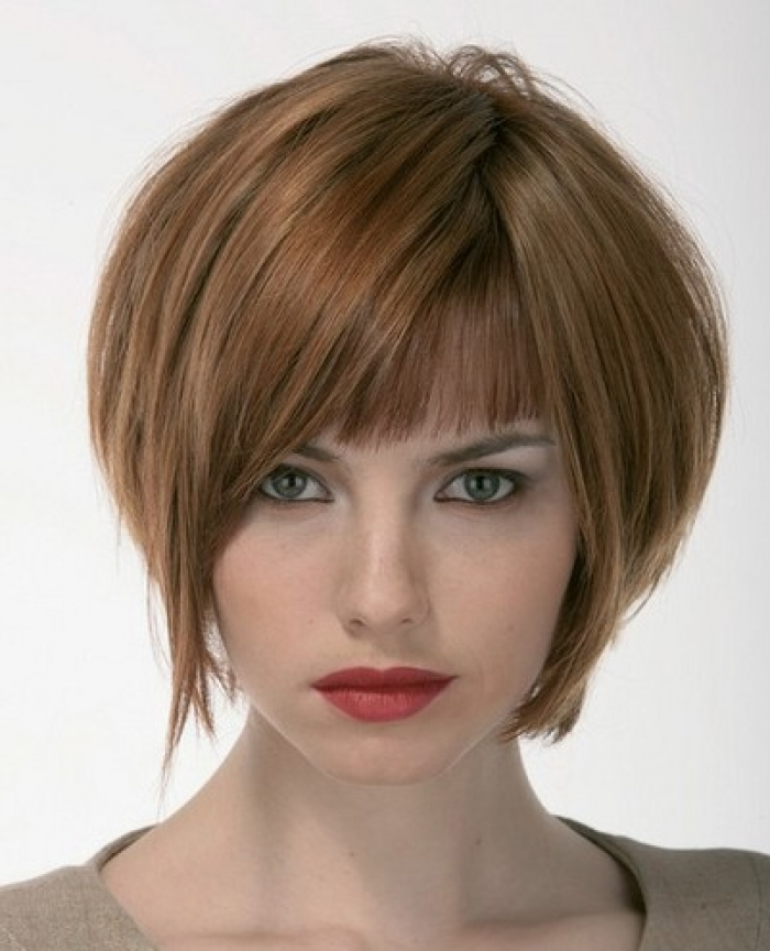 Stacked Bob Haircut Short Hairstyles For Girls Confident Look