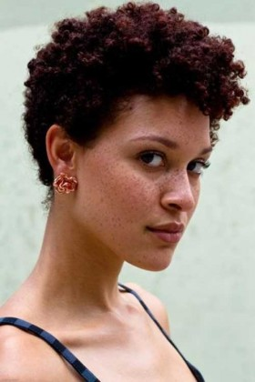 natural haircut style for black women