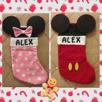 Monogrammed Stockings for kids
