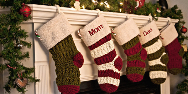 Monogrammed stockings christmas 1