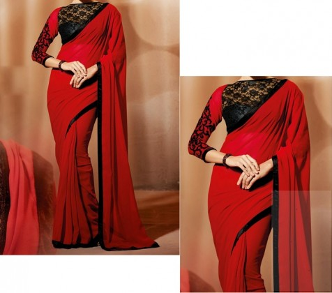 Sari Draping Styles for slim looks