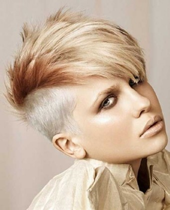 Punk Hairstyles For Girls: Medium Haircut | Popular Haircuts in punk haircuts for long hair For Cozy