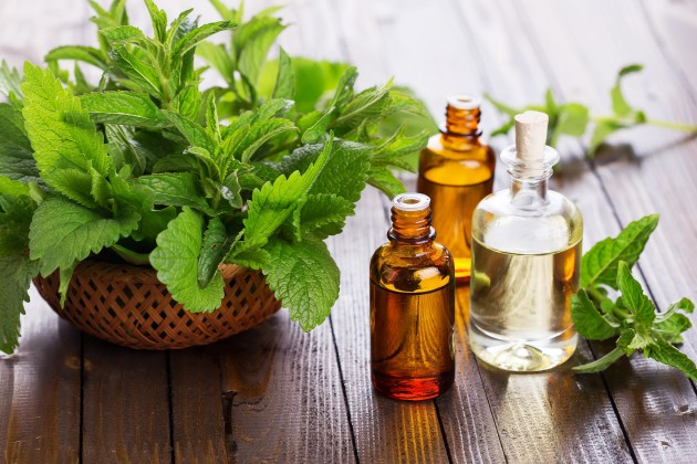 peppermint oil for attractive lips