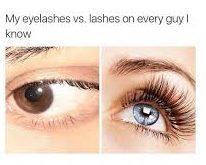 guys lashes