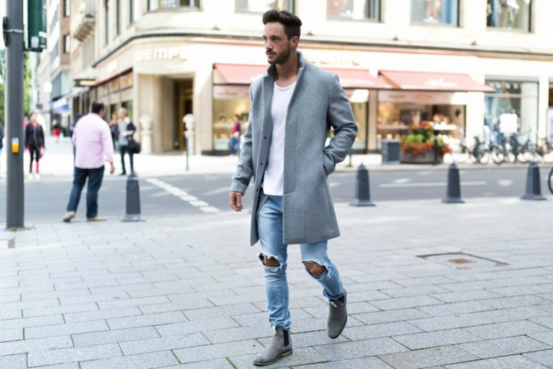 Ripped Denim Jeans Mens Street Style Magic Fox Instagram 800x533