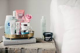 bedside beauty essentials