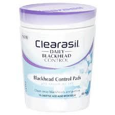 blackhead removing pads