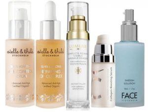 Scandinavian beauty products